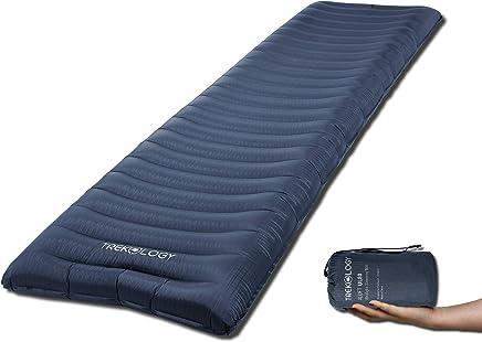 Trekking und Backpacking 190x56x9cm PiAEK Selbstaufblasende Isomatte Camping Outdoor Ultraleicht Kleines Packma/ß Isomatte Aufgeblasen durch Airbag,Faltbar Aufblasbare Luftmatratze f/ür Camping