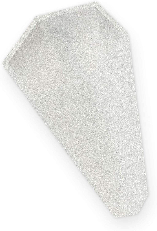itenga Schultüte Zuckertüte Rohling Karton eckig Ultramarin 85 cm Spitzenschutz