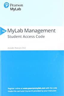 Mylab Management with Pearson Etext -- Access Card -- For Strategic Management: A Competitive Advantage Approach, Concepts...