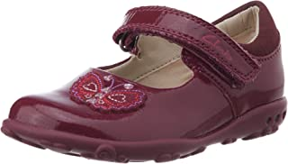 Clarks Girl's Ella Fly FST Patent First Walking Shoes