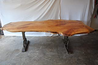 Live Edge Cypress Table