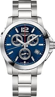 Longines Conquest - L3.702.4.96.6 - Blue Dial Chronograph Quartz Men's