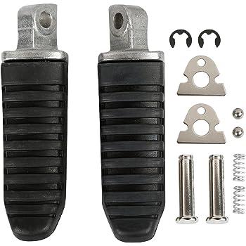 Topteng Repose-pieds arri/ère pour Su-zu-ki V-Strom DL 650 1000 GSX 1250 1300 GSR 600