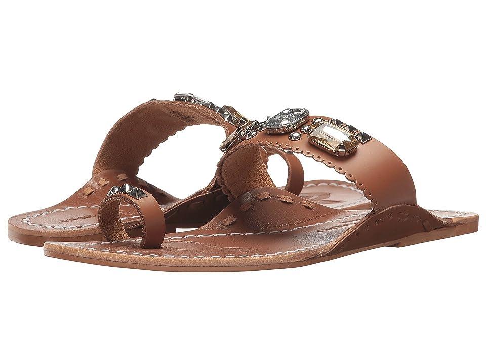 Chinese Laundry Jada Sandal (Tan Leather) Women