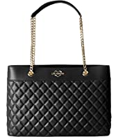 LOVE Moschino - Super Quilted Tote Chain Strap