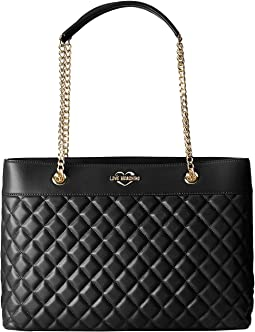 Super Quilted Tote Chain Strap