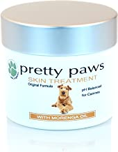 Dog Hot Spot Treatment. Pain Relief for Paw Disorders, Dermatitis, Infection, Dry Itchy Skin, Rashes, Bites, Allergic Reactions. Antiseptic Antifungal Holistic Vet Approved - Concentrated Pretty Paws