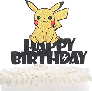 Best pikachu edible cake topper Reviews