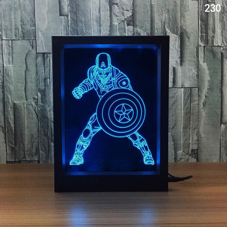 GXYBuntes Licht des Nachtlichtes Nachtlichtes Nachtlichtes 3d des kreativen Fotorahmens 109d kundenspezifisches Licht des Nachtlichts B07P994PBZ | Fuxin  a3ac8e