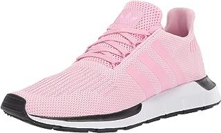 adidas Originals Women's Swift Running Shoe, True Pink/White, 10.5 M US