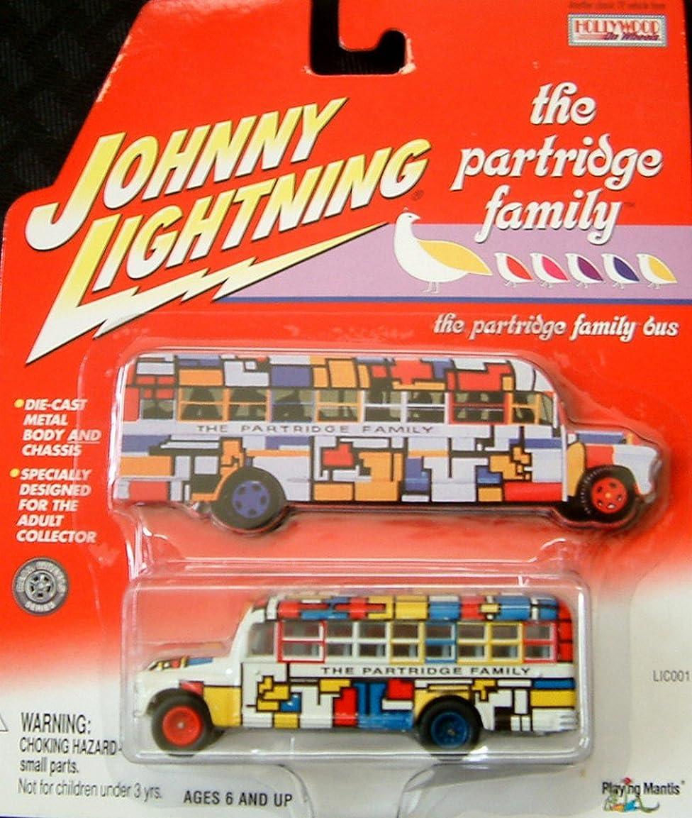 申請中オン悔い改めJOHNNY LIGHTNING 1:64スケール ホリーウッド ホイール ザ?パーティー ファミリー バス ダイキャスト コレクティブル Play Mantis