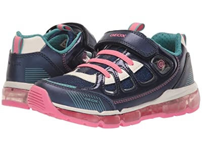 Geox Kids Android 27 (Little Kid/Big Kid) (Medium Blue) Girl