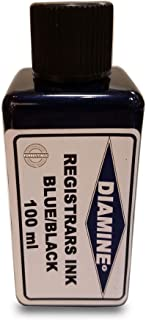 Diamine Ink Registrars Bottled Ink 100ml - Blue/Black
