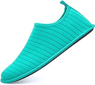 adituob Water Sports Shoes Aqua Barefoot Socks Pool Beach Swim Exercise for Women and Men