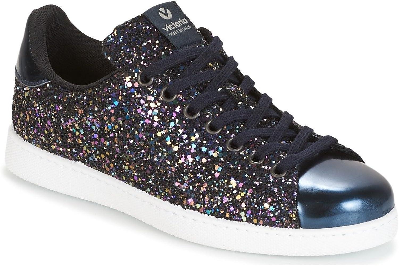 Victoria Unisex Adults' Deportivo Basket Glitter Low-Top Sneakers