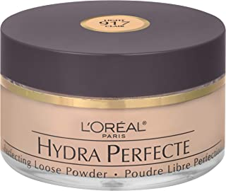 L'Oreal Paris Hydra Perfecte Perfecting Loose Face Powder, Minimizes Pores & Perfects Skin, Sets Makeup, Long-lasting and ...