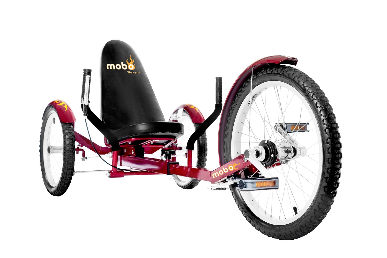 Mobo Recumbent Cruiser Tricycle 3 Wheel