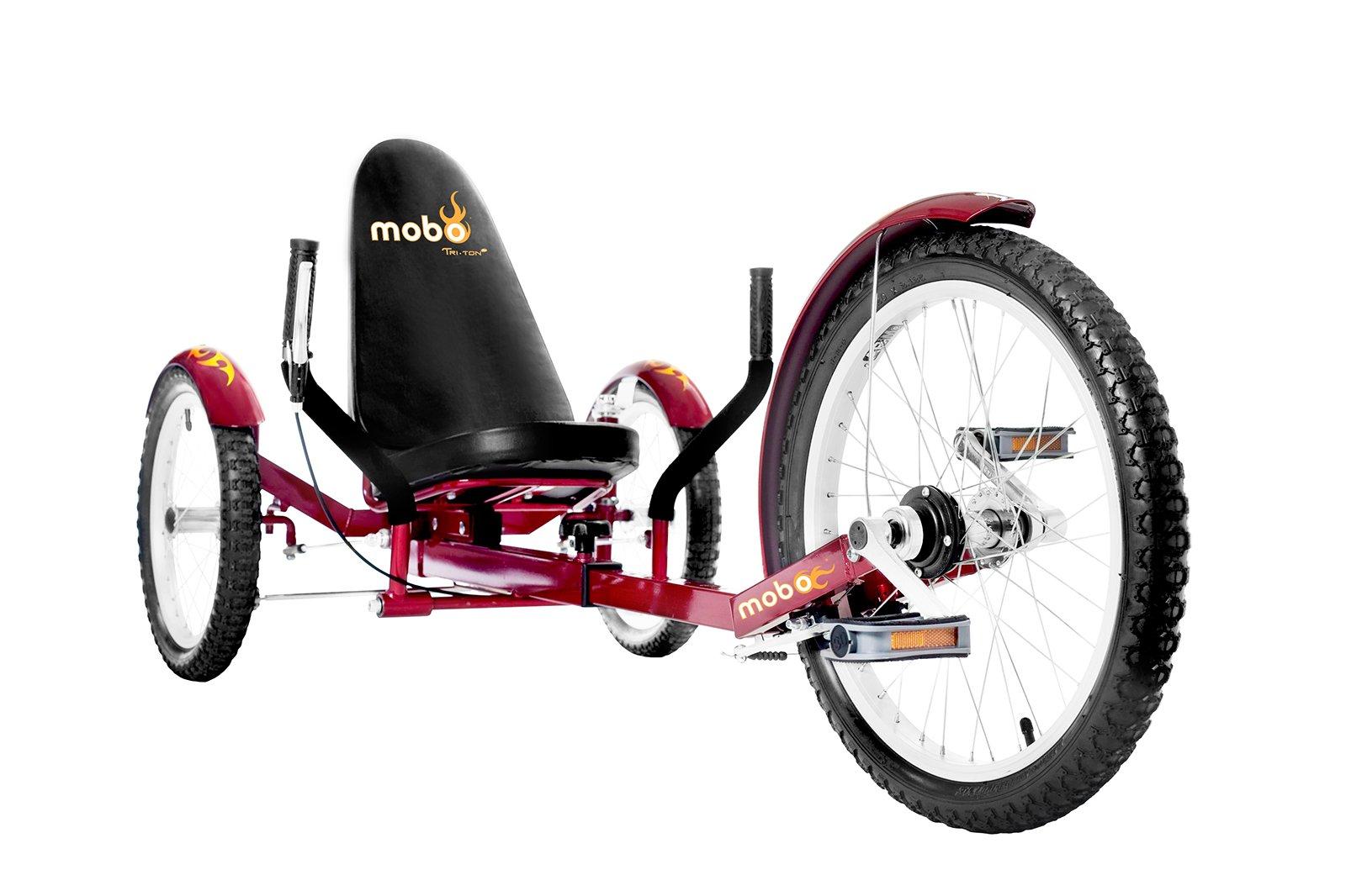 Mobo Recumbent Cruiser Tricycle 3 Wheel