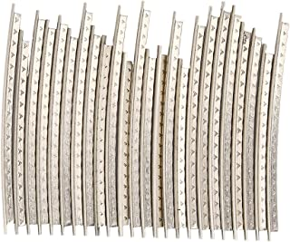 VGEBY 24Pcs Guitar Fret Wires, Copper Bass Fret Wires Fingerboard for Electric Guitar Accessories 2.2 mm