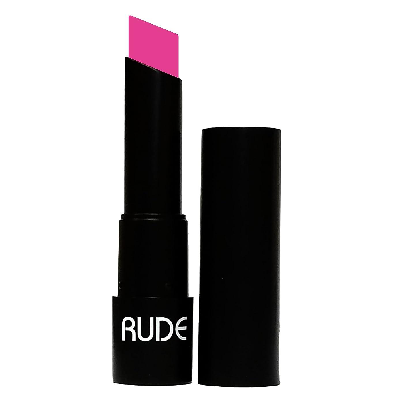 洗練小道具吹きさらし(3 Pack) RUDE Attitude Matte Lipstick - Contemptuous (並行輸入品)