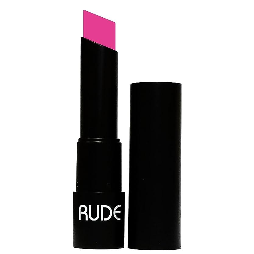 鉄道限り構築する(6 Pack) RUDE Attitude Matte Lipstick - Contemptuous (並行輸入品)