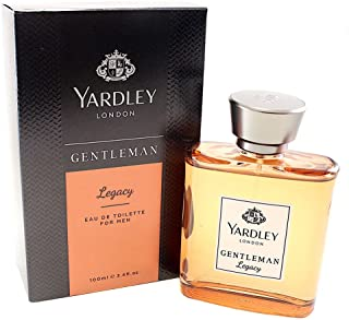 Yardley Gentleman Legacy luxury fragrance Eau de Parfum, Oriental, woody, mandarin, cedarwood and cocoa, 100ml