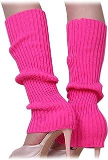 comprar comparacion SODIAL Calentadores de pierna sin pies tejidos de Color solido de mujer Rosado