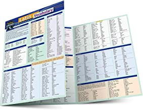 Latin Vocabulary: a QuickStudy Laminated Reference Guide