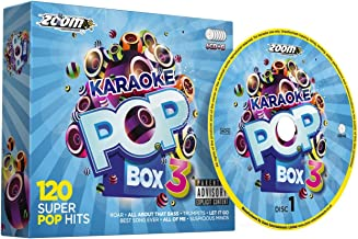 Zoom Karaoke Pop Box 3 Party Pack - 6 CD+G Box Set - 120 Songs By Zoom Karaoke (2014-10-21)