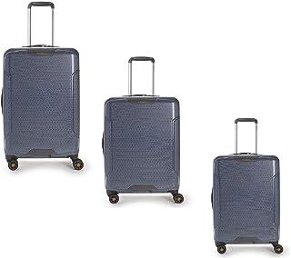 هيدجرين طقم حقائب سفر فري بعجلات, 3 قطع مع 4 عجلات, رمادي - HFRS03N-109-01