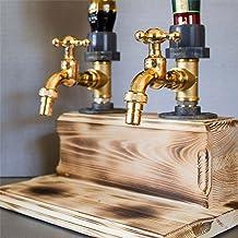 Vaderdag Likeur Alcohol Whisky Hout Dispenser - Tapkraan Vorm Dispenser, Rum en Spirits Feestdiners Bars en Drankstations ...
