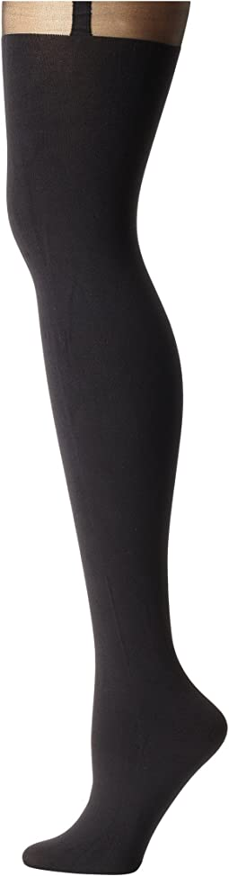 Plus Size Curves Suspender Tights