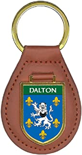 Dalton Family Crest Coat of Arms Lot of Total Key Chains
