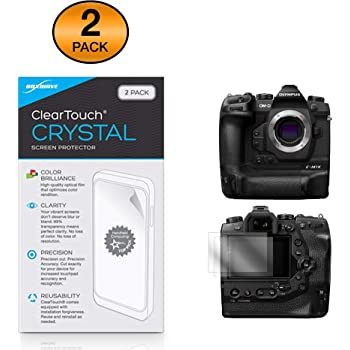 ClearTouch Crystal Atomos Shinobi Screen Protector 2-Pack BoxWave Shields from Scratches for Atomos Shinobi HD Film Skin
