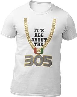 Retro Kicks Miami - Turnover Chain 305 T-Shirt It's All About The U