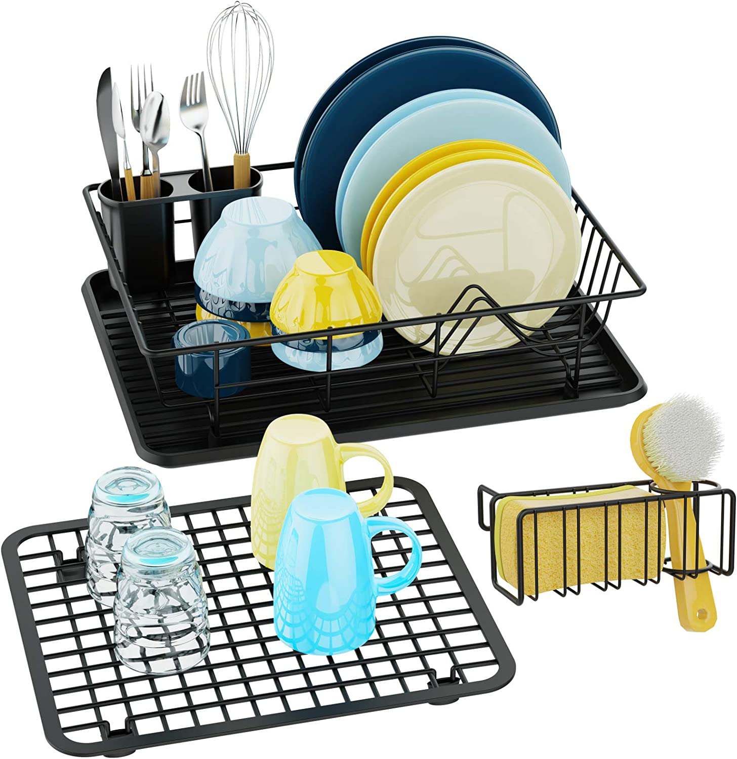 Dish Seasonal Wrap Introduction Drying Rack and Drainboard - Set Don't miss the campaign of 3 iSPECLE