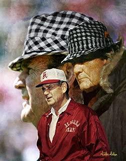 Paul Bear Bryant Alabama Crimson Tide Head Coach NCAA Football Art Print 11x14-24x30