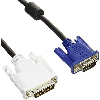 エレコム 変換ケーブル DVI(29pin)-VGA 1.5m ブラック CAC-DVA15BK