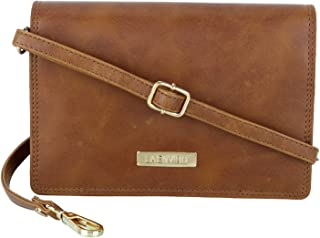 LA Enviro Zumi Women's Crossbody Shoulder Bag, Tan