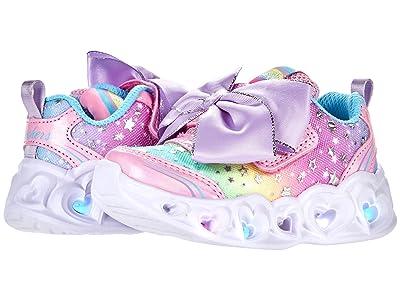 SKECHERS KIDS Sport Lighted Heart Lights 302655N (Toddler/Little Kid)