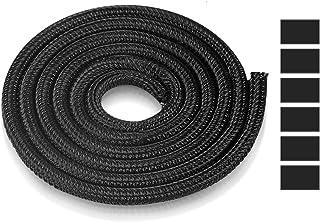 AGPTEK 6 m/19,69 fot kabel prydlig ärm, djursäker kabelkabelhantering wrap split ärm med flamhindrande, kabelskydd kabelor...