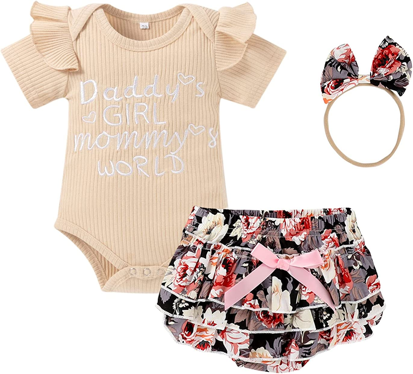 Newborn Girl Outfits Baby All items in the store Little Very popular Clothes Summer Daddys