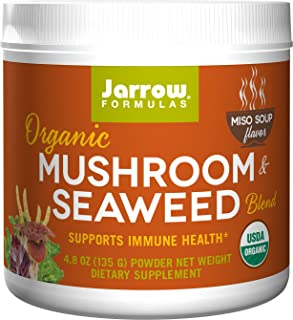 Jarrow Formula 蘑菇海藻面豉汤粉,4.8 盎司(约 135 克)
