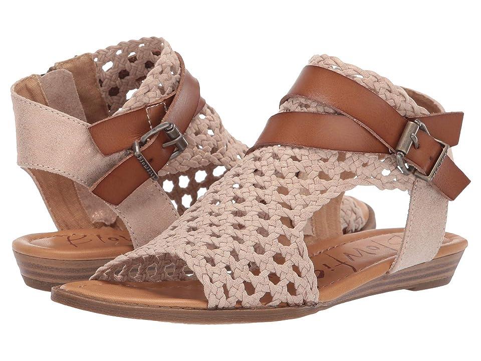 3d78f9fccdb14 Blowfish Balla D (Gold Woven Draped Micro) Women s Sandals