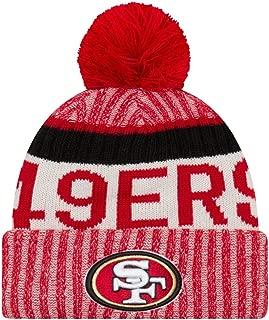New Era San Francisco 49ers NFL Sideline On Field 2017 Sport Knit Beanie Beany