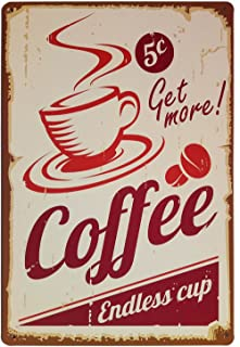 Best coffee retro sign Reviews