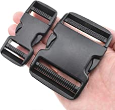 SGH Pro Quick Side Release Buckles Clips Snaps Dual Adjustable No Sewing 2