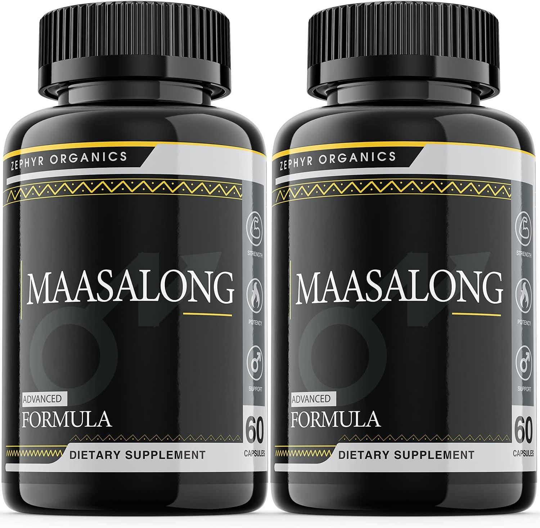 2 Regular Excellent store Pack Maasalong Male Advanced Test Formula Boosting Enhancmen