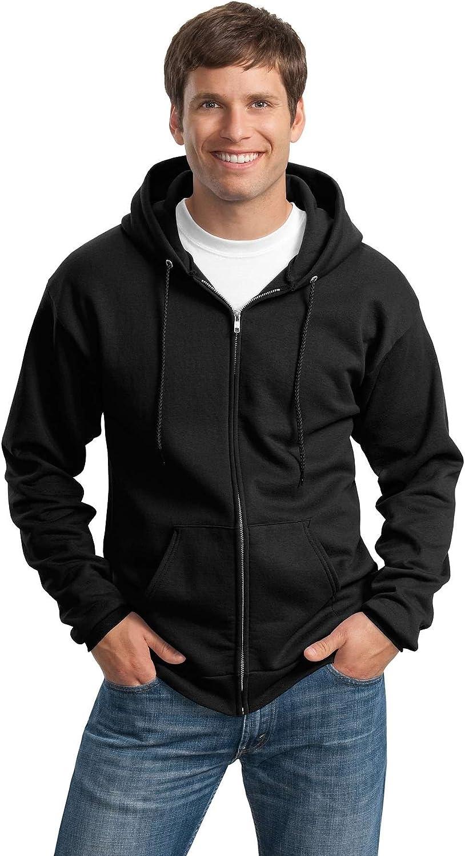 Port Company Bargain sale Complete Free Shipping - Hooded Full-Zip Sweatshirt.