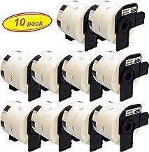 Yellow Yeti 10 Rollos DK-11209 29 x 62mm Etiquetas de dirección compatibles para Brother P-Touch QL-500 QL-570 QL-700 QL-710W QL-720NW QL-800 QL-810W QL-820NWB QL-1100 QL-1110NWB   800 Etiquetas/Rollo